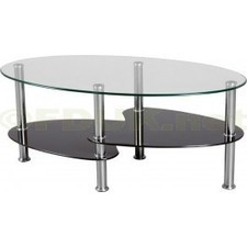 Seconique Cara Clear Glass Coffee Table | Glass Coffee Tables | Scoop.it