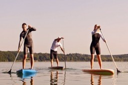 Why paddle boarding is the best vacation work out - Discover Good ... | Water Sports and Boats | Scoop.it