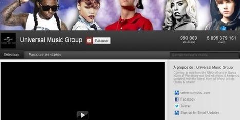 Youtube entre en guerre contre les maisons de disques   Communication, publicité & monde 2.0   Scoop.it