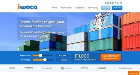 E-Commerce Business Lender iwoca Raises $8.2M To Expand In The UK And ... - TechCrunch | Digital-News on Scoop.it today | Scoop.it