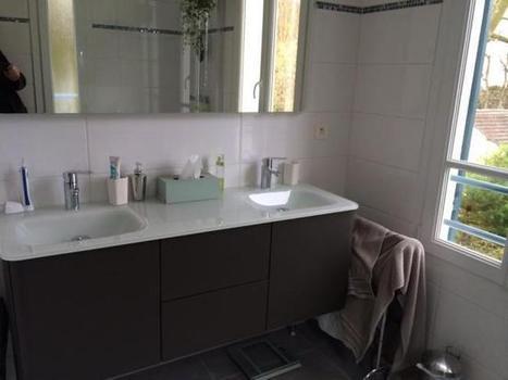 Rénovation salle de bains dans le Val d'Oise | Avant Après | Scoop.it