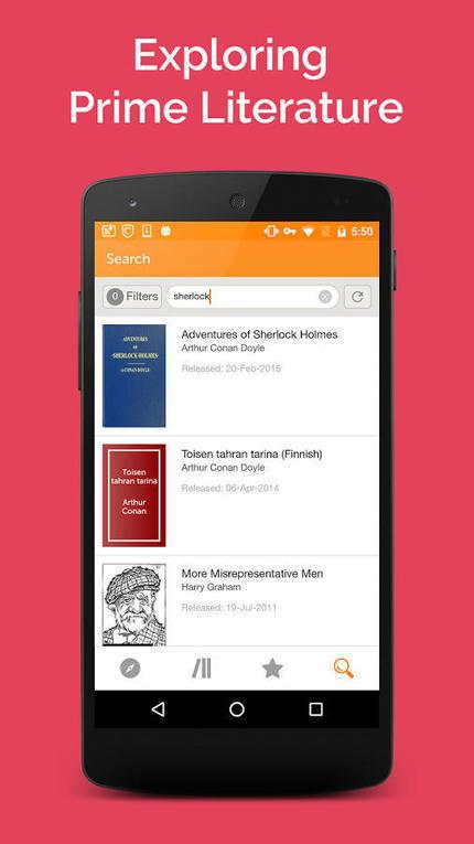 Une application Android pour le projet Gutenberg et ses milliers de livres gratuits | Bibliothèques, web et ressources numériques | Scoop.it