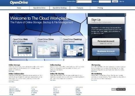 OpenDrive otro servicio de almacenamiento gratuito   Librarianship News   Scoop.it