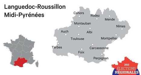Régionales: les chiffres clefs de Languedoc-Roussillon Midi-Pyrénées | Jobs'TIC : emploi formation éducation | Scoop.it