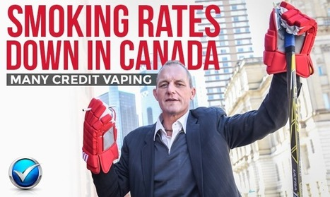 Many Credit Vaping For Smoking Reduction In Canada   E Cig - Electronic Cigarette News   Scoop.it