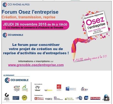 """""""Osez l'entreprise"""" (CCI Rhône Alpes) avec RH Solutions Grenoble   Portage salarial RH Solutions   Scoop.it"""