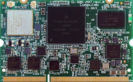 Compulab Unveils CL-SOM-iMX7 Freescale i.MX7 System-on-Module and SBC-iMX7 Single Board Computer | Embedded Systems News | Scoop.it