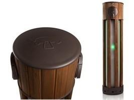 Une belle borne en bois pour recharger les véhicules électriques » L'actualité du Bâtiment Artisanal   GTC   Scoop.it