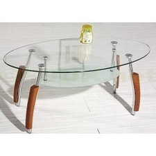 Heartlands Furniture Bolivia Clear Glass Coffee Table | Glass Coffee Tables | Scoop.it