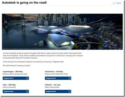 Autodesk AEC Live on Tour - Nordics   Top CAD Experts updates   Scoop.it