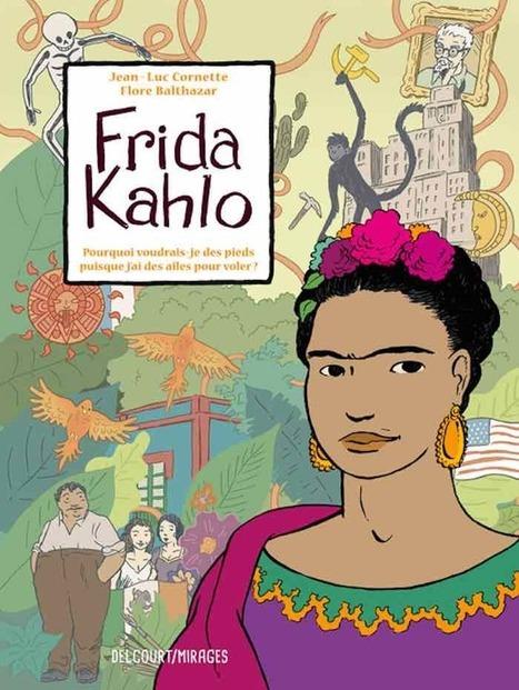 Frida Kahlo se reencuentra con Rivera y Trotski en cómic | Educacion, ecologia y TIC | Scoop.it