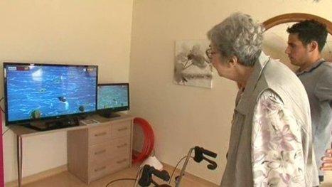 NaturalPad, une société montpelliéraine crée le jeu vidéo qui cartonne en maisons de retraite - France 3 Languedoc-Roussillon   Jeux (sérieux, de société, vidéos)   Scoop.it