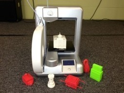 New 3D printer helps transform middle school learning at Hillel Academy | 3d printer disruption | Scoop.it