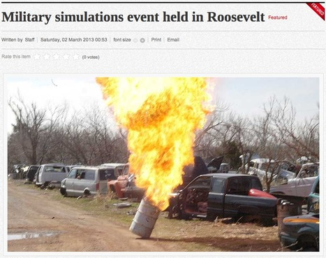 Military simulations event held in Roosevelt - swoknews.com   Military Simulations   Scoop.it