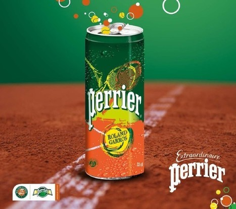 Perrier et Roland Garros, une histoire extraordinaire | Id Marketing | Scoop.it