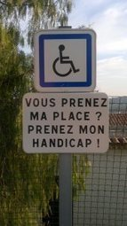 Disabled car parking in France | Wheelchair accessible French Riviera | Scoop.it