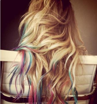 DIY BEAUTY   Come fare i chalk hair, la tendenza capelli Estate 2012   Benessere, Beauty & Make-Up   Scoop.it