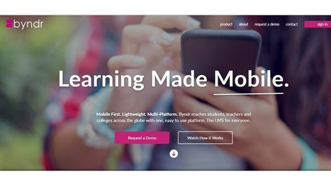 What Problem is Byndr 'A Mobile-First Learning Management Platform' Solving for Colleges | EdTechReview | Scoop.it
