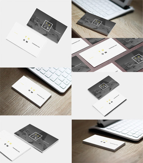 7 mockups de tarjetas de visita | Marbella Ases Media | Scoop.it