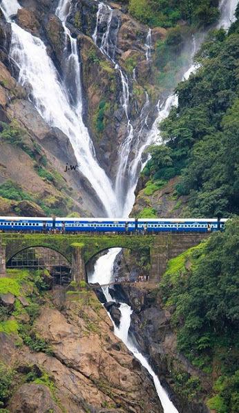 Dudhsagar est l'une des chutes les plus exquises du monde | Voyage photographie en Inde | Scoop.it