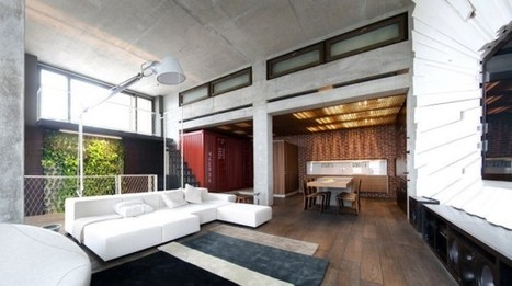 Loft Apartment by 2B Group | sustainable architecture | Scoop.it