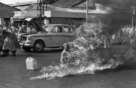 11 juin 1963 Saïgon : le moine bouddhiste Thich Quang Duc s'immole par le feu | Que s'est il passé en 1963 ? | Scoop.it