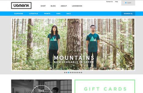 5 sites e-commerce pour votre inspiration – #21 - WebdesignerTrends | Web-Design | Scoop.it