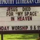 10 Funniest Geeky Church Signs | Strange days indeed... | Scoop.it