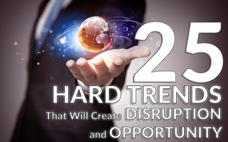 25 Game-Changing Hard Trends That Will Create Disruption and Opportunity | Futurewaves | Scoop.it