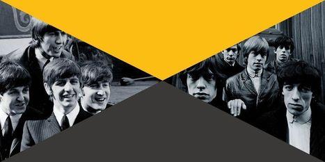 Beatles-Rolling Stones, le duel qui n'en était pas un - Libération   Bruce Springsteen   Scoop.it