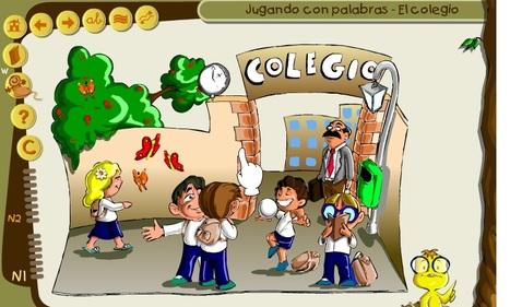 Jugando  con  palabras | Recursos útiles para padres para el inicio de la lectoescritura en Educación Infantil | Scoop.it