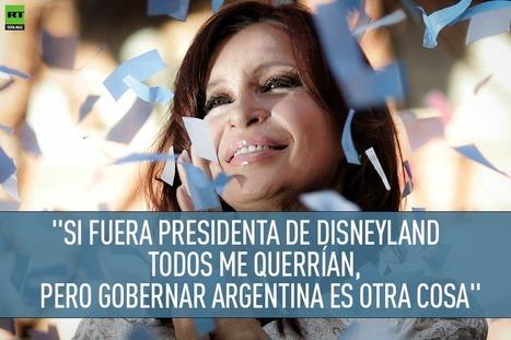 Entrevista exclusiva a RT de Cristina Fernández de Kirchner tras su viaje a Rusia `+ VIDEO | @CNA_ALTERNEWS | La R-Evolución de ARMAK | Scoop.it