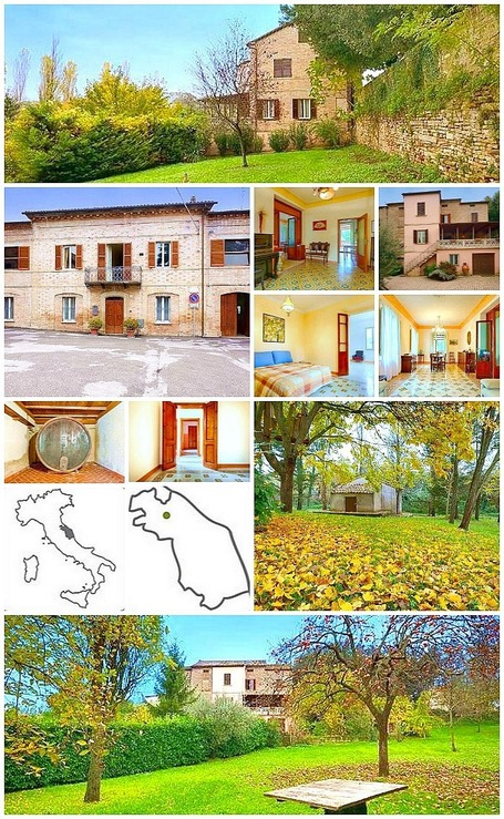 Indipendent Townhouse with Garden for sale in Le Marche | Le Marche Properties and Accommodation | Scoop.it