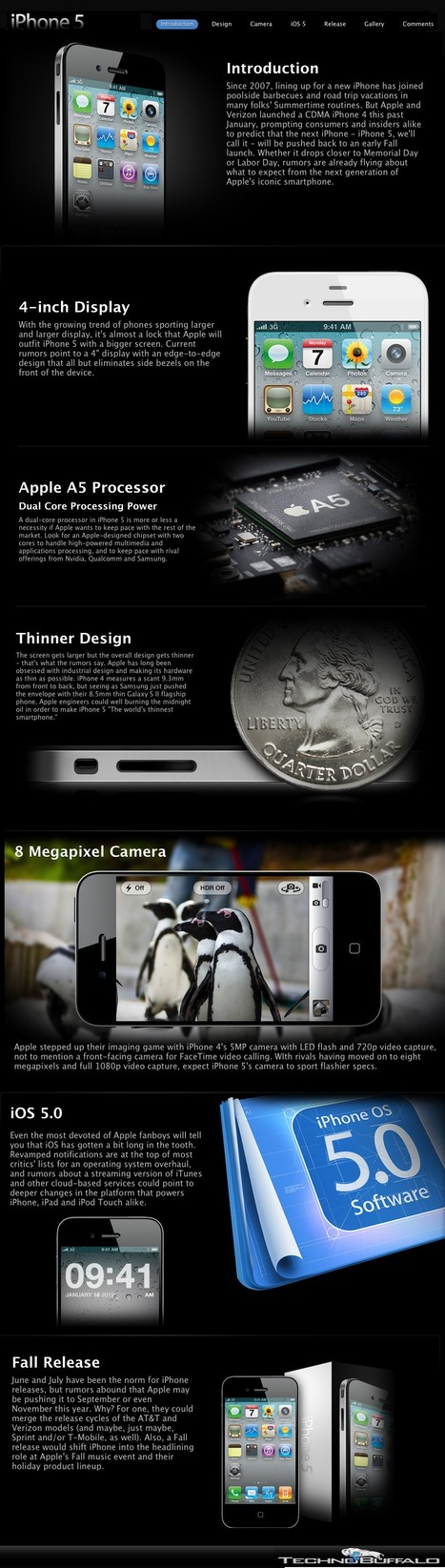 "Apple iPhone 5 - Rumors, Features and Specifications so Far | L'impresa ""mobile"" 