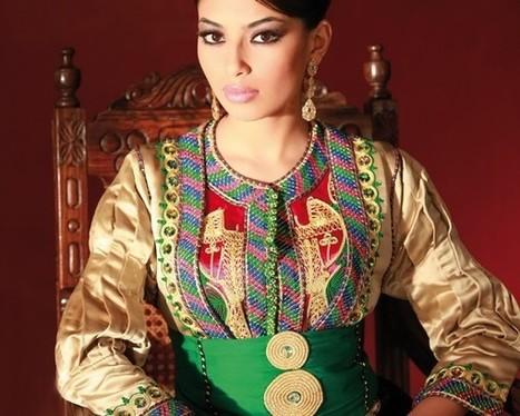 Caftan haute couture à vendre en ligne | caftanboutique | Scoop.it