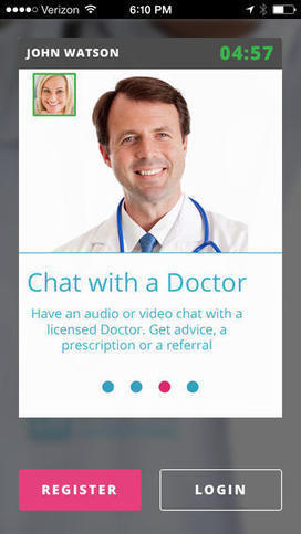 Doctor on Demand app launches, raises $3M | mobihealthnews | Connected health | Scoop.it