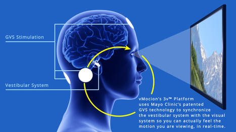 vMocion looks to end motion sickness in virtual reality by tricking your brain | digital mentalist  and cool innovations | Scoop.it