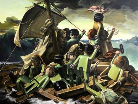Classic Paintings, With All The Humans Replaced With Playmobil Toys | Strange days indeed... | Scoop.it
