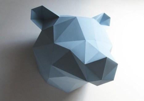 L'origami se décline en plusieurs objets de décoration | cactus_happy | Scoop.it