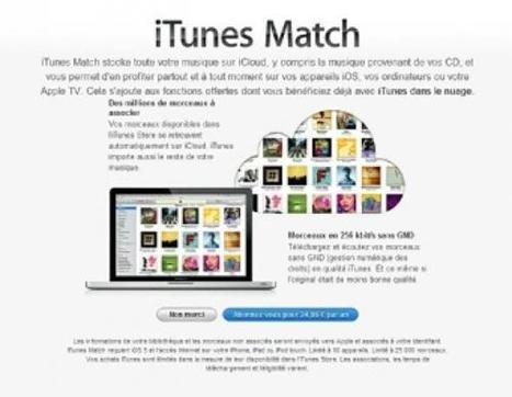 iTunes fait le Match | Apple World | Scoop.it