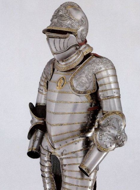 Renaissance Men of steel: marvel at the most incredible armour ever | Italia Mia | Scoop.it