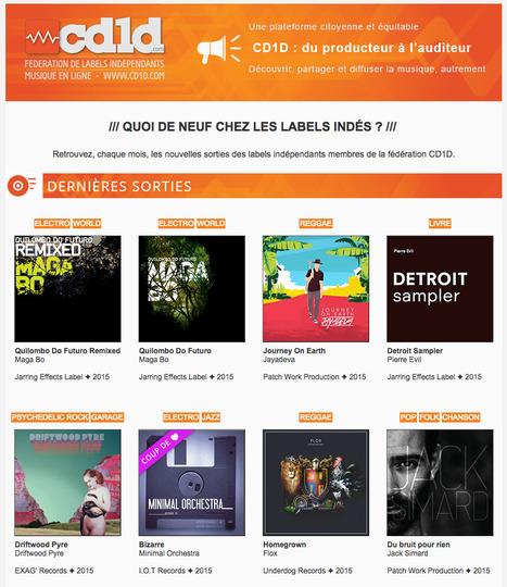 #Cd1d : Les nouveautés des labels indépendants - Novembre 2015 | Labels CD1D | Scoop.it