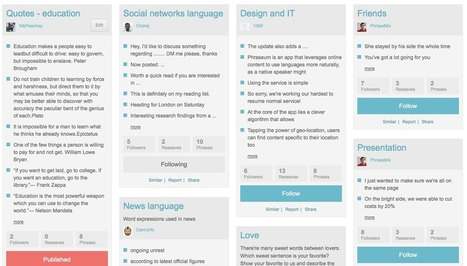 Creating social phrasebooks with Phraseum | EduInfo | Scoop.it
