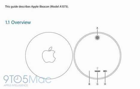 Apple's unreleased iBeacon hardware exposed in user manual published by FCC | digital marketing | Scoop.it