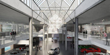 A refurbishes powerplant to create meilenwerk car center - Hadi Teherani | Design | Scoop.it