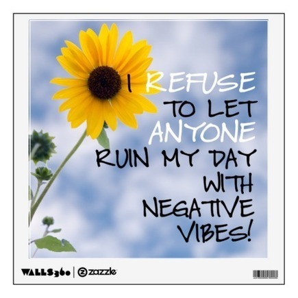 Staying Positive Text With A Sunflower In The Sky Room Decals | Z Photography | Scoop.it