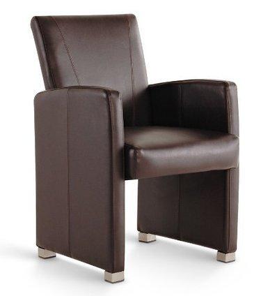 –> Günstige    SAM® Leder Club Sessel Malte in braun mit Ziernähten, Füße edelstahlfarbig, angenehme Polsterung, pflegeleicht, teilzerlegt Auslieferung durch Paketdienst | Günstige Lederstühle | Scoop.it