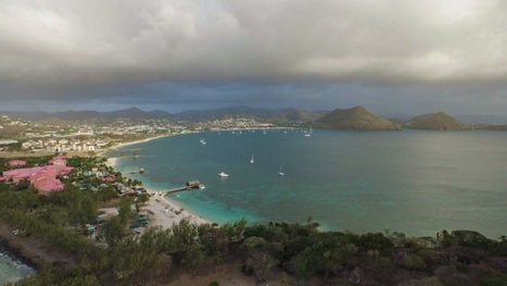 Aerial View Of Picturesque Rodney Bay | Saint Lucia Tourism | Scoop.it