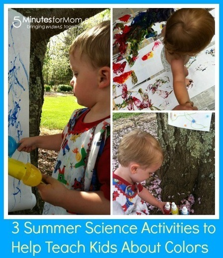 3 Summer Science Activities to Teach Your Kids About Colors | Science Ed toolbox | Scoop.it