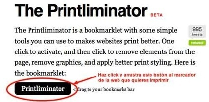 The Printliminator, un bookmarklet muy útil para eliminar secciones de una web | EDUCACIÓN 3.0 - EDUCATION 3.0 | Scoop.it